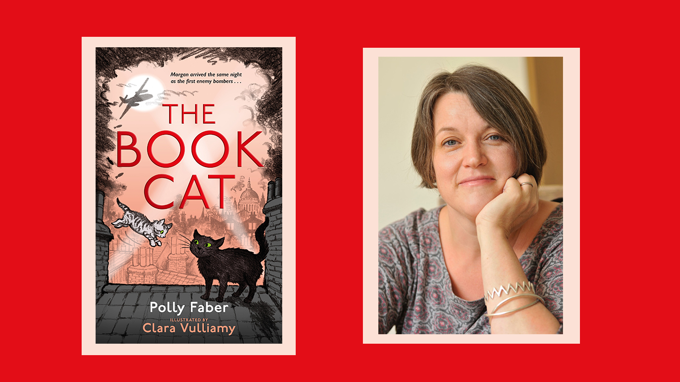 Q&A with author Polly Faber